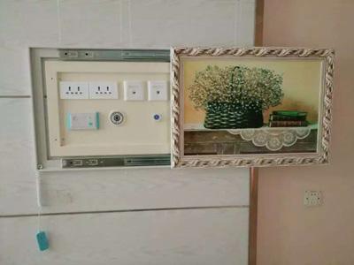 壁画式嵌入式气体终端箱